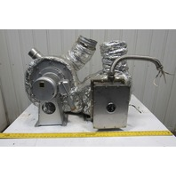 Showa AH-600HT-S02-L313 1Hp 200/220V 50/60Hz 3Ph Heated Blower Package See Info