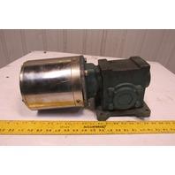 Dodge 17Q30L56 30:1 Ratio 58RPM LH Output 208-230/460V Gear Motor
