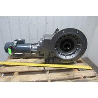 """Nord SK 9053.1AF 1Hp 230/460V 931.87:1 Ratio 1.85 RPM 3"""" Thru Output Gear Motor"""