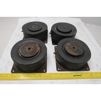 Barry Controls Stabl-Levl SLM-12A 1200 # Static Load Shock Machine Pads Lot Of 4