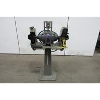 """Uniclosed US Motors 7"""" 3Hp Pedestal Grinder Buffer Polisher 220/440V 3Ph 1800RPM"""