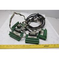 Phoenix Contact Ribbon Cables Terminal Block Motoman YR-SK6-0000 Lot Of 4