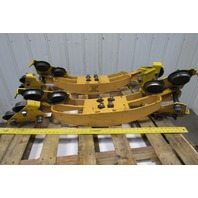 Budgit Hoist Cat 62 509261-1 1 Ton Bridge Crane Beam Trolley End Truck Lot Of 2