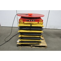 "Presto XL 24-40 3500lb Scissor Lift 36"" Dia. Turn Table 10""-36"" Height 115V 1Ph"