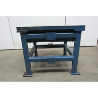 "2"" Thick Top Steel Machine Base Welding Table Work Bench 38""x34""x33"""