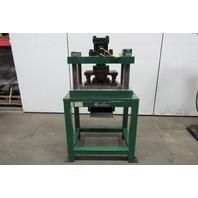 "Hill Eng. 4 Post 3/4"" Stroke Hydraulic Press W/Die No Power Unit or Controls"