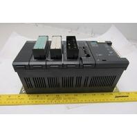 Siemens TI335 5 Slot Rack Input Output CPU Cards PLC 110/220V