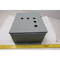 "Hoffman A1210CH 12"" x 10"" x 5"" Electrical Enclosure Junction Box"