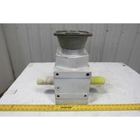 ZAE M 312 B 1320/44 5.36:1 Ratio 50mm Dual Output Shaft Gear Reducer