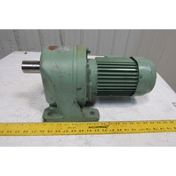 Tsuibaki Emerson GMTA075-42L-200BN 200:1 Ratio 0.75Kw Gear Motor 200/220V 3 Ph