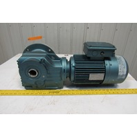 Sew Eurodrive DFT100LS41601 17.54:1 Ratio 98 RPM 3Hp 230/460V Gear Motor Encoder