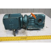 Sew Eurodrive DFT90L4 29.32:1 Ratio 2Hp 230/460V 59RPM Hollow Shaft Gear Motor