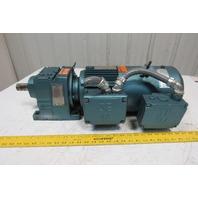 Sew Eurodrive R27DT90L4 6.59:1 Ratio 2Hp 230/460V 261RPM Inline Gear Motor