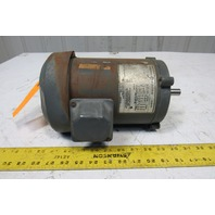 General Electric 5K36PM253A 3/4Hp 1725RPM 208-230/460V 3Ph 56C Electric AC Motor