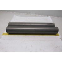 "3"" OD x 20-1/2"" Face 1-1/8"" Bearing Bore Gravity Conveyor Roller Lot Of 2"