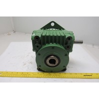 Lenze PGLP680 53:1 Ratio Worm Gear Speed Reducer Right Angle Hollow Output