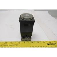 ISSC 1081-1-A-2-B 0.4s-10min 120V Off Delay Timing Relay W/ Socket