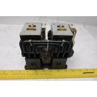 Allen Bradley 104-A45NZ243 3 Pole Reversing Magnetic Contactor 24VDC Coil