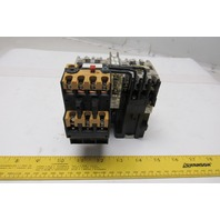 Allen Bradley 100-A09NZ Reversing Contactor Overload 600V 7.5Hp 24V Coil
