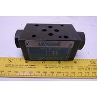Vickers DGMPC-3-ABK-BAK-41 Hydraulic Check Valve