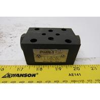 Double A NNAAC-005-10A2 Hydraulic Control Valve