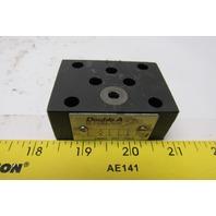 Double A DNNNC-005-10A2 Hydraulic Valve Block