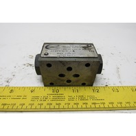 Continental Hydraulics VCD5-M-G-A Pilot Operated Check Valve Sandwich Module