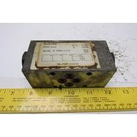 Racine FB1-PDHM-101A-20 Hydraulic Check Valve Sandwich Module 3000PSI