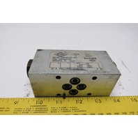 Racine FB1-PDHM-101N-20 Hydraulic Check Valve Sandwich Module 3000PSI