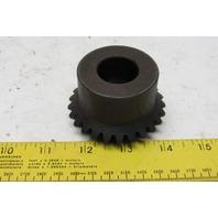 """Martin M1025B 1"""" Bore Miter Gear 20° Pressure Angle 25 Teeth"""