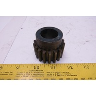"Boston Gear NF-18B 1"" Bore External Tooth Spur Gear 18T 14.5°"