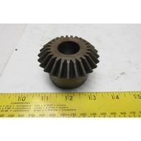 """Boston L104Y 7/8"""" Plain Bore 25T 20° Pressure Angle Miter Gear"""