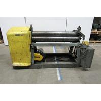 """48"""" Heavy Gauge Power Slip/Plate Roller 3Hp 208-230/480V 3 Ph"""