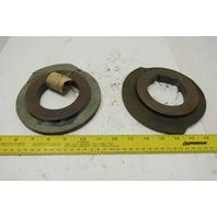 "CEW30460 332 3019 A302 Cast Iron Cam Set Machined Bore 3"" Lot Of 2"