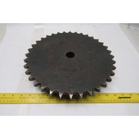 """Martin 80B36 #80 Single Row Roller Chain Sprocket 36T 1-3/16"""" Unfinished Bore"""