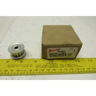 "Browning 14XLB037 3/8"" Wide Belt 14T Timing Belt Sprocket  1/4"" Bore Lot Of 2"