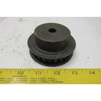 "Maurey 24L050MPB 1/2"" Wide Timing Belt Pulley 1/2"" Bore 24T"
