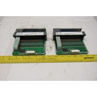 Allen Bradley 1746-IV16 SLC500 16 Channel DC Source Input Card Lot of 2