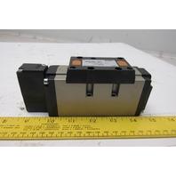 SMC VFS4100-5FZ Pneumatic Solenoid Control Valve 21-26VDC