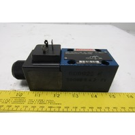 Rexroth 3WE6A62/EW110N9K4/62 Hydraulic Directional Control Valve 120V