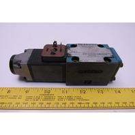 Rexroth 3WE6A51/AW110N9Z55L Hydraulic Directional Control Valve 120V