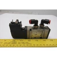 SMC NVFS2120--5DZB-021 Pneumatic Solenoid Valve 21-26VDC