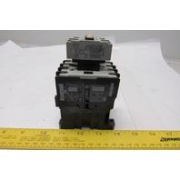 Allen Bradley 100-A24ND3 600V 15kW 24A Max Motor Starter 120V Coil Lot/4
