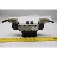 Rexroth R432016670 5/3 Position Closed Center Solenoid Control Valve 120V Coil