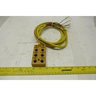 Turck VB 60-5 6 Port Junction Box M12 Eurofast I/O Ports