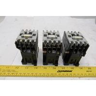 Allen Bradley 100-A09ND3 600V 7.5Hp 3Ph Magnetic Contactor 120V Coil Lot Of 3