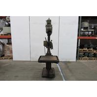"""Burtfoot 2-12-1 8 Speed Pedestal Drill Press 1/2"""" Chuck No. 2MT 220/440V 3Ph"""