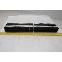 Allen Bradley 1492-H Fuse Block Terminal 500V 50 Blocks On DIN Rail