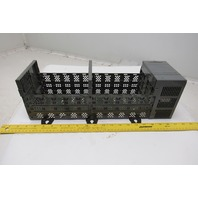 Allen Bradley 1746-A10 1746-P2 SLC 500 PLC 10 Slot Rack Chassis W/ Power Supply