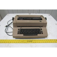 IBM Selectric II Vintage Electric Typewriter Tan Parts Or Repair AS IS